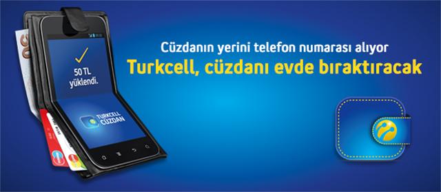 Turkcell Cüzdan ile temassız ödeme