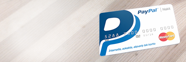 PayPal Nakit Kart